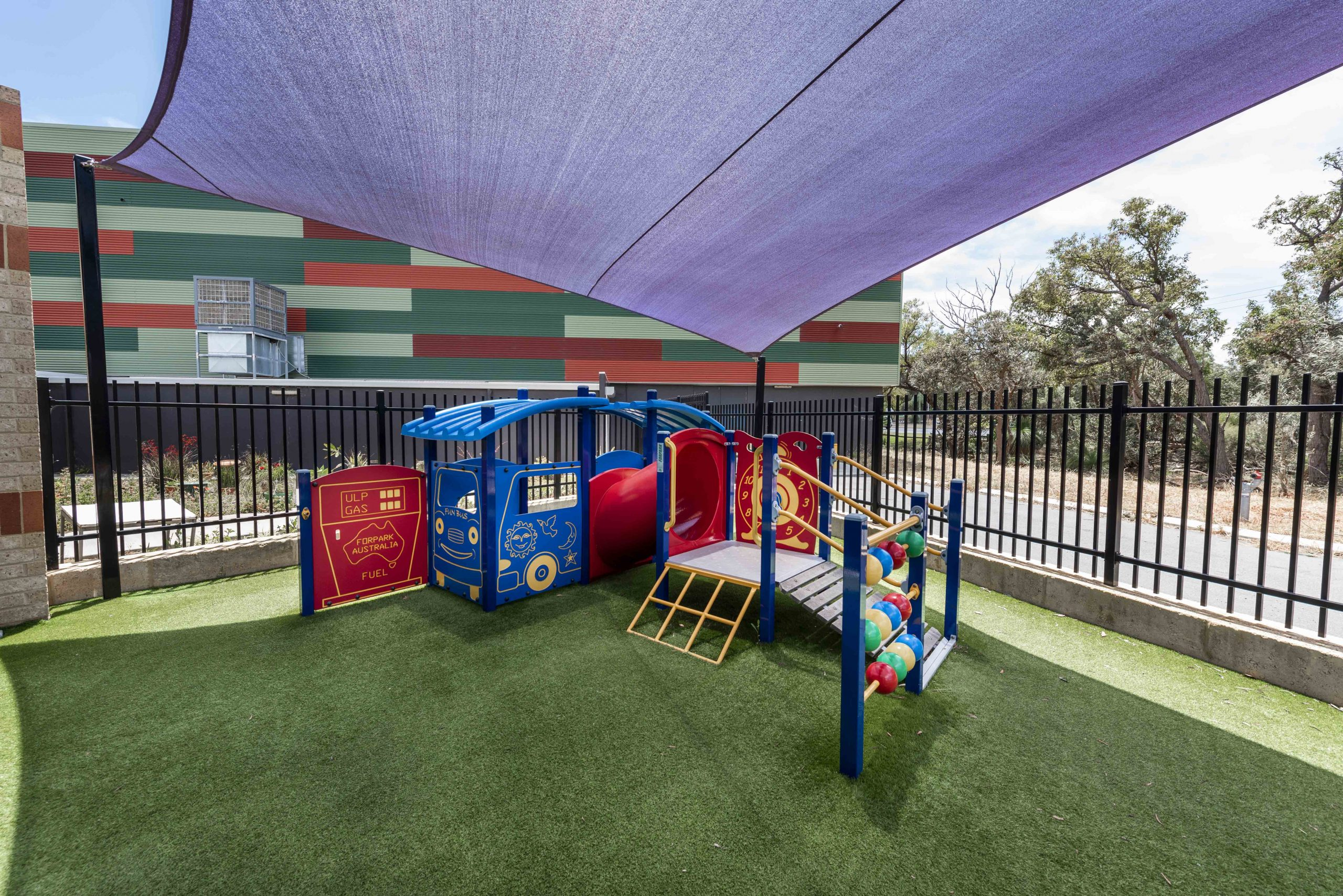 Playground close up